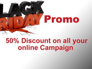 50% Discount on all your online advertisement in Nigeria