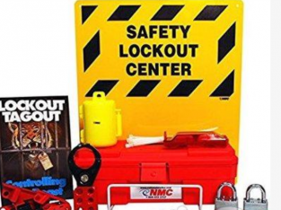11 Piece Electrical Lock Out & TagOut LOTO Safety
