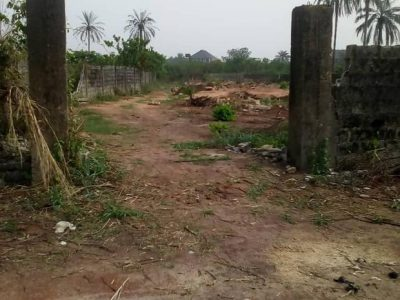 One Plot Of Land For Sale At Orogwe Owerri