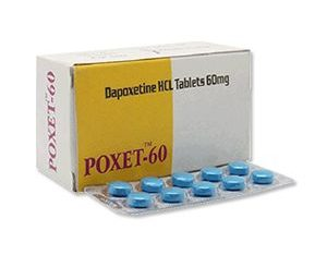 Poxet 60 mg Dapoxetine Tablet