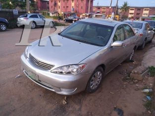 Registered Toyota Camry 2005